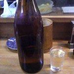 たち木 - 【2010年10月】 酒を冷で頼むと一升瓶ごと出てきます