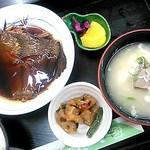 ショッパー桜川 - 【2016.9】本日の煮魚定食(500円)