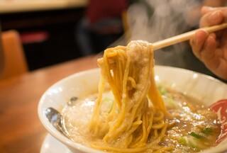 てらっちょ - 麺と背脂