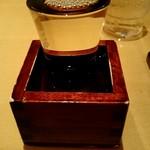 日本そば あけの蕎 - 『一ノ蔵 常温』¥520-