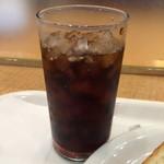 BECK'S COFFEE SHOP - 水出しアイスコーヒーのSサイズ。 税込230円。 うまし。