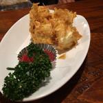 55636691 - カマンベールチーズのアーモンド揚げ480円