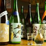海鮮山 - 日本酒各種