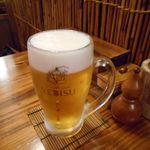 仲本家JUNKAの台所 - 生ビール