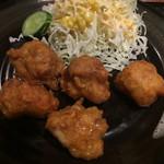 55637627 - 鶏唐揚定食 ¥700 の鶏唐揚