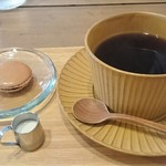 ラポカフェ - 無農薬栽培 森のコーヒー(マカロン付き)