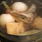 レストラン アカショウビン - 【夕食】だまこ鍋