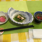 レストラン アカショウビン - 【夕食】前菜