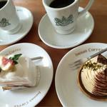 お菓子の店 ファリーヌ - 思い出のイノダの食器で✨