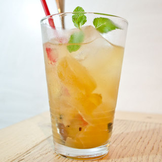 お酒が飲めない方にやさしい味わいの自家製ジンジャエール