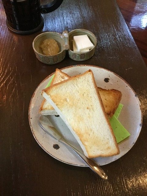 丸山珈琲 - トースト