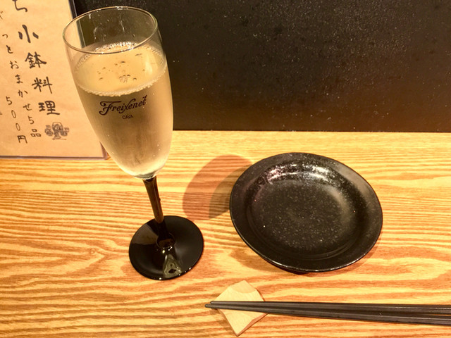 白金高輪ぶちの料理の写真
