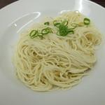 龍吟軒 - 替え玉(バリカタ)