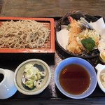 55645710 - もり天ぷら定食(1400円)