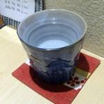 みつや - 芋焼酎お湯割り580円+税