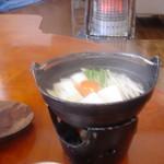 秘境の宿 雪あかり - 朝湯豆腐
