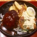 ブッチャーズテーブル - 料理写真:ハンバーグ&チキン南蛮