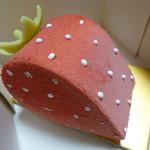 ラデュレ - 苺を模したケーキ