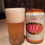 ニャー・ヴェトナム - <2016年9月>ベトナムビール 「バーバーバー」650円
