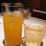 ニャー・ヴェトナム - <2016年9月>マンゴージュースと蓮茶