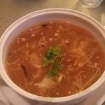 55649771 - 干し貝柱とフカヒレのスープ