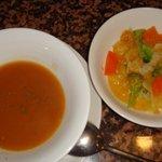 マリブハウス - スープとサラダ