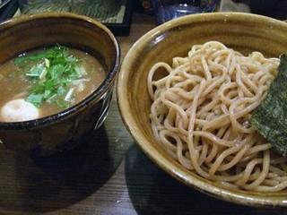 つけ麺 えん寺 吉祥寺総本店 - 味玉つけ麺大盛