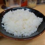 松田家 - ライス無料サービス