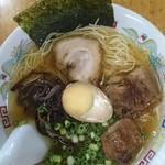 熊本らーめん 育元 - 和風塩角煮ラーメン