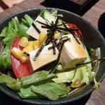 55651960 - 豆腐のサッパリサラダ