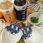 夢庵 - ヤマサの タレ ポン酢とゴマだれ