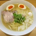 55652570 - ・「鶏白湯そば(¥720)」