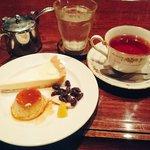 カフェ・ホートン - レアチーズケーキ セット