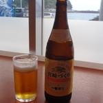 港の駅めいつ - 瓶ビール 宮崎づくり(一番しぼり)