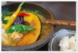 Rojiura Curry SAMURAI. 吉祥寺店 - 豚の角煮と野菜