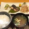 新亀家 北上 - 料理写真:焼き魚定食800円 コーヒー付