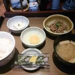 やよい軒 - 納豆朝食