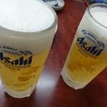 桂ホルモン - ビール