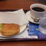 カフェ・ド・クリエ - デニッシュサンドたまご:400円