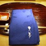 東麻布 天本 - テーブルセット