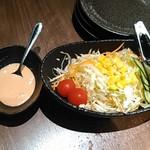 焼肉モランボン - サラダ