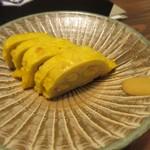 百雷 - 次は辛子レンコン、久しぶりにこれ食べたなぁ。