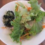 アブルボア - 日替わり9種盛り合わせ定食