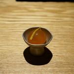 焼鳥 市松 - 金柑の醤油漬け