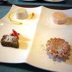 イタリアンキッチン いしかわ - ランチタイム・パスタコース:1600円 デザート