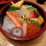 ひろ寿司 - 北海道丼 うまし!