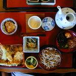5566897 - 天重定食(割子二枚)(1150円)(2010/09/21)