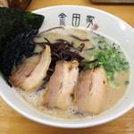 金田家 - 黒豚ラーメン