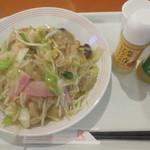 長崎ちゃんぽんリンガーハット - 野菜たっぷり皿うどん  ¥788-
