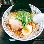 55662433 - 『煮干しラーメン 小ぶりちゃん』様(680円)※〆にご飯付